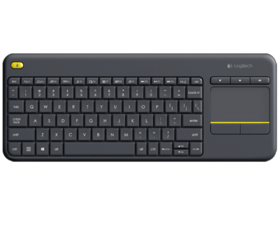 Logitech K400 Plus Wireless & Touch Pad keyboard