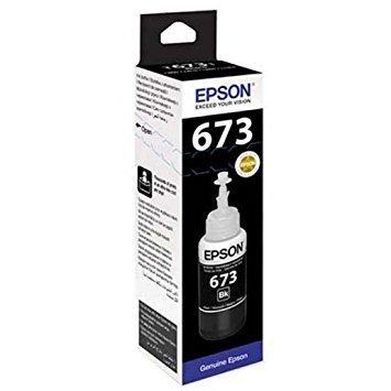 Epson ink Bottle, 673, Black, 70ml