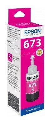 Epson ink Bottle, 673, Magenta, 70ml