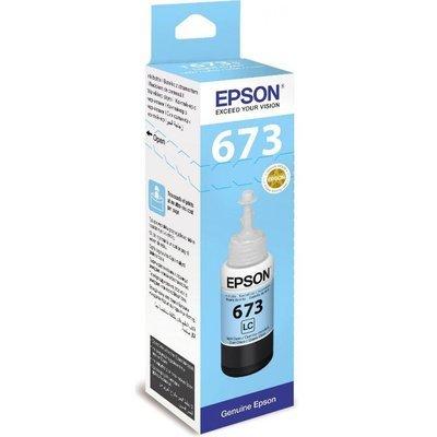 Epson ink Bottle, 673, Light Cyan, 70ml