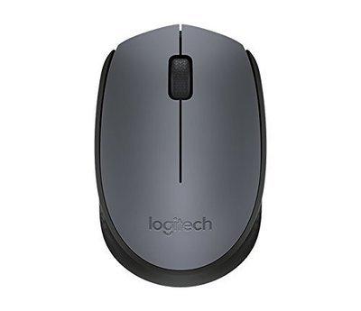 Logitech M171 Wireless Mouse, Grey