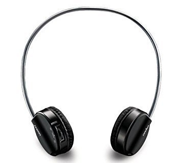 Rapoo H6020 Bluetooth On-Ear Headphone with Mic, Black