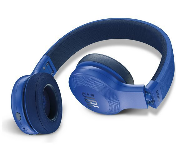 8421b44ea4d JBL E45BT Wireless Bluetooth On-Ear Headphones with Mic, Blue, Rs.4600