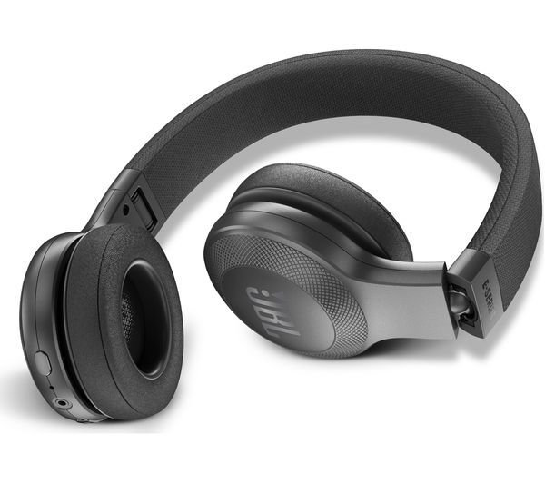 87c3d92b832 JBL E45BT Wireless Bluetooth On-Ear Headphones with Mic, Black, Rs.4600