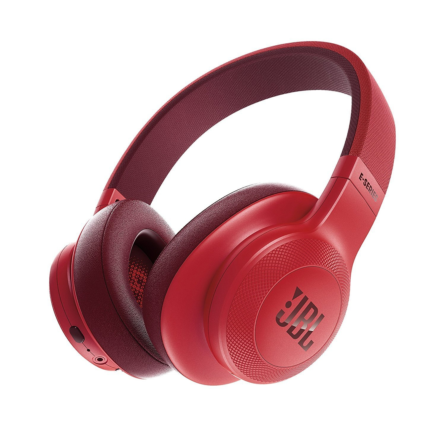 JBL E55BT Bluetooth Over-Ear Headphones with Mic, Red