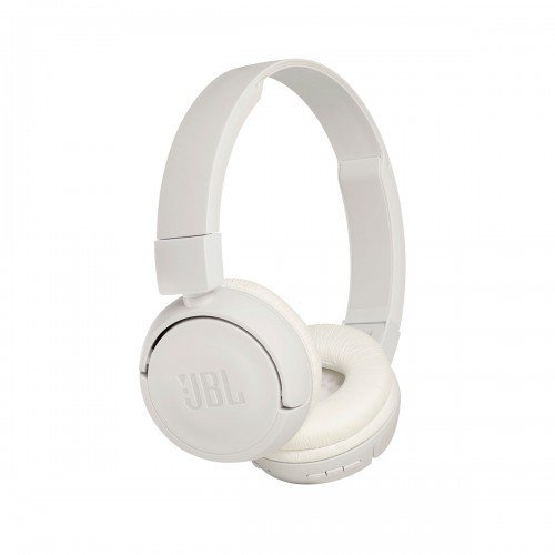 JBL T450BT On-Ear Wireless Bluetooth Headphones with Mic, White