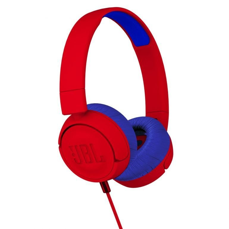 JBL JR-300 Junior On-ear Headphone, Red