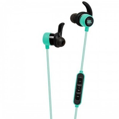 JBL-Reflect Mini BT In-Ear Wireless Sport Headphones, Teal
