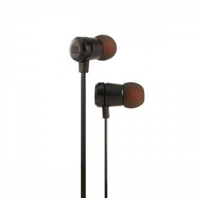 JBL T290 In-Ear Headphones with Mic, Black