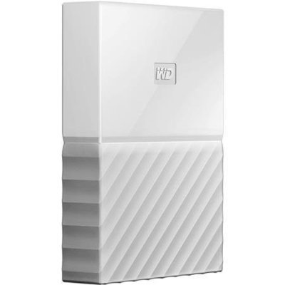 WD 1TB My Passport USB 3.0 External Hard drive, White