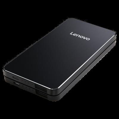 Lenovo 5000mAh Li-ion Polymer Power Bank, Black