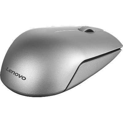 Lenovo 500 Wireless Mouse, Silver