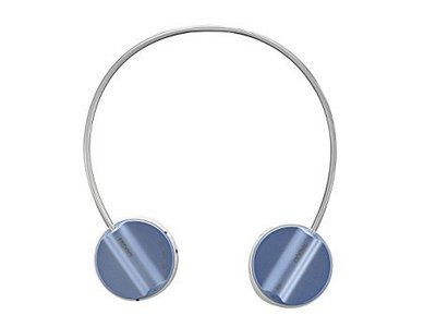 Rapoo H6020 Bluetooth On-Ear Headphone with Mic, Light Blue