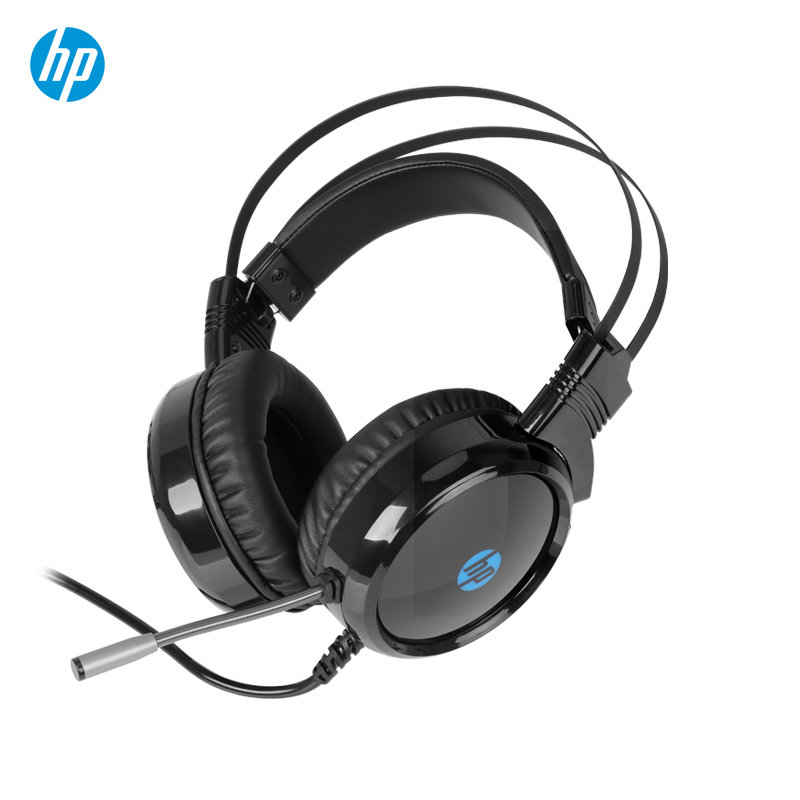 HP H120 Back-lit Gaming Headset with Mic  (Black|1QW67AA)