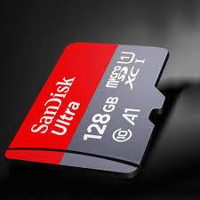 SanDisk 128GB Memory Card (A1|C10|100Mbps)