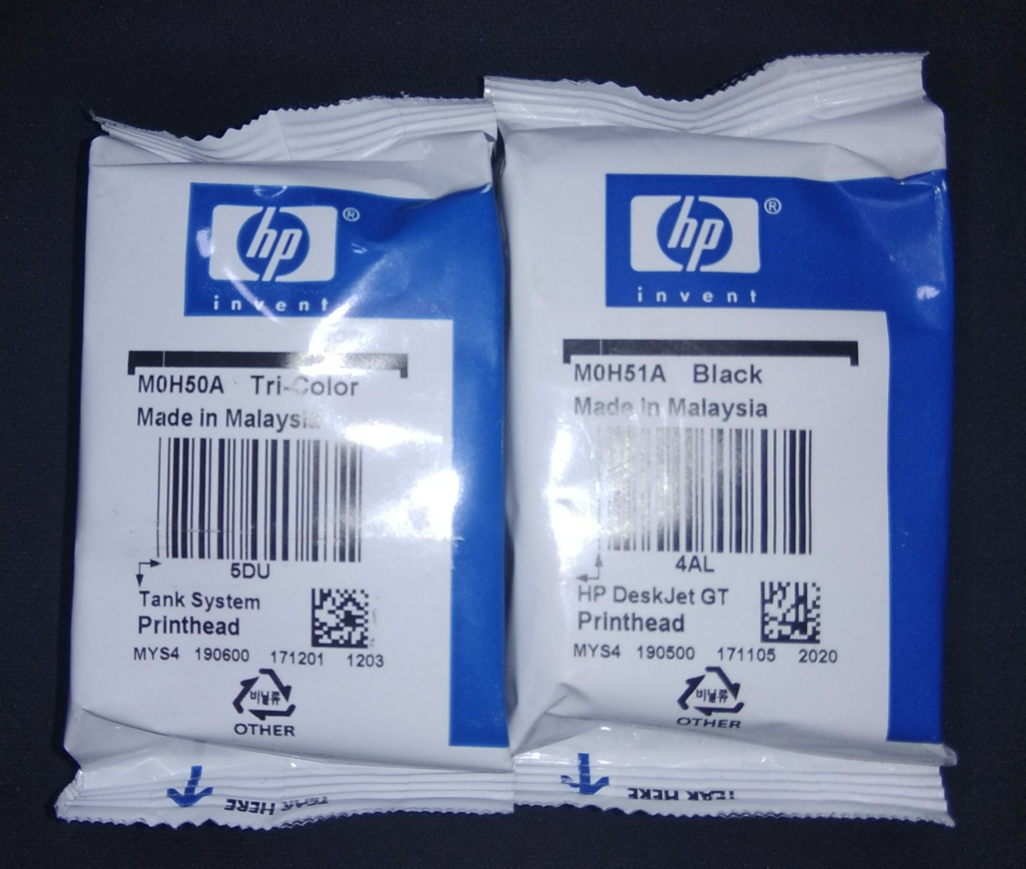 HP GT Series Ink Cartridge For Use GT 5810, 5820,   (Combo Pack)