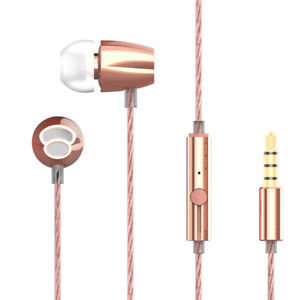 Rapoo VM120 in-ear Headphone with mic, Ros Gold
