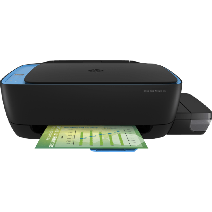 HP 419 Color All In One Ink Tank Printer