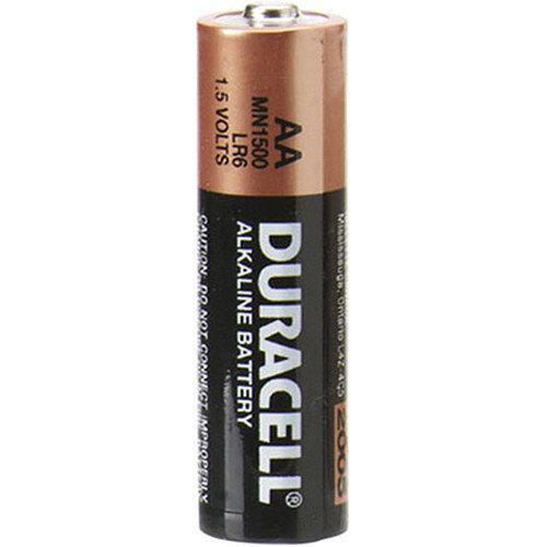 Duracell 1.5V AA Non-rechargeable Alkaline Batteries, LR6 880814 HSN:8504