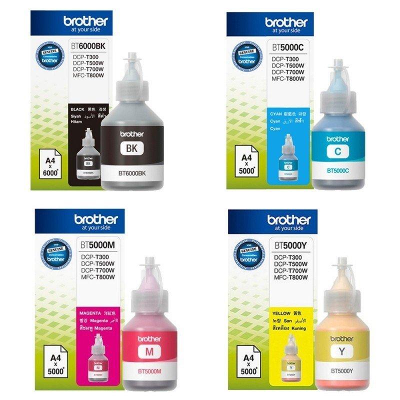 Brother ink Bottle Original BT5000 / BT6000 889955 HSN:32151990