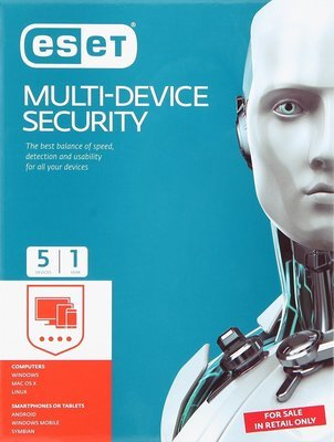 5 User, 1 Year, Eset Internet Security, Smart Multi Device