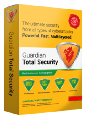 Guardian Total Security, 5 User, 1 Year