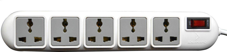 Rapoo Ideakard Smart Strip 5 Socket Surge Protector, SP50 SP50 HSN:8536