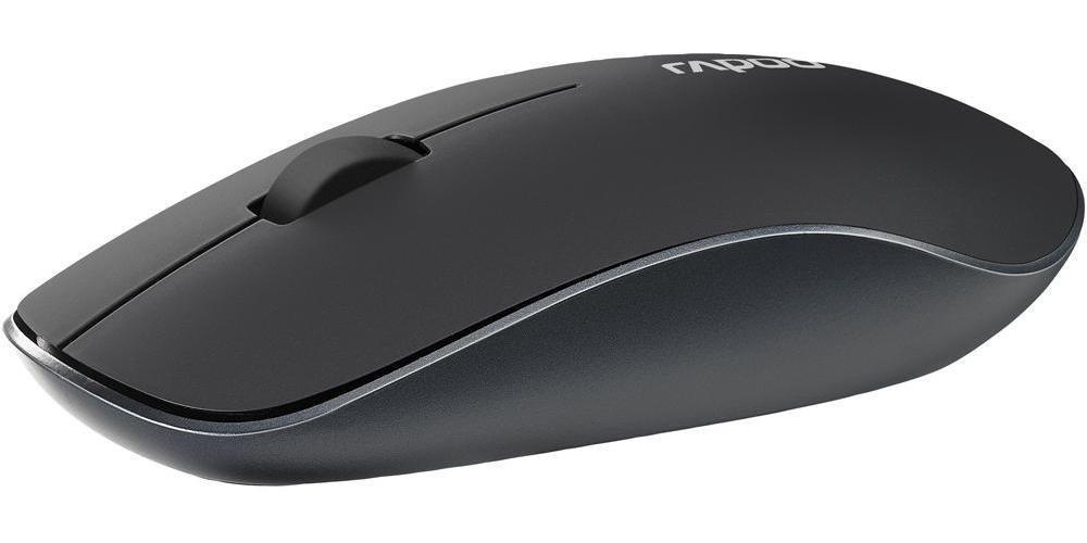 Rapoo 3510 Plus Fabric 2.4G Wireless Optical Mouse