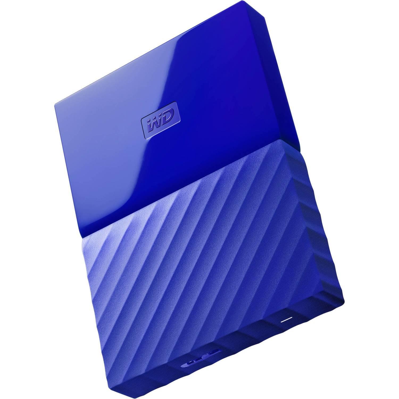 WD 4TB My Passport USB External Hard drive, Blue