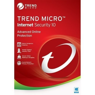 10 User, 1 Year, Trend Micro Internet Security