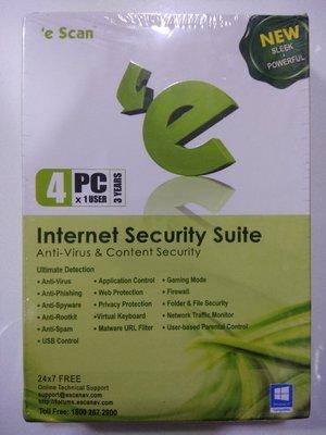 4 User, 3 Year, eScan Internet Security, V-11x