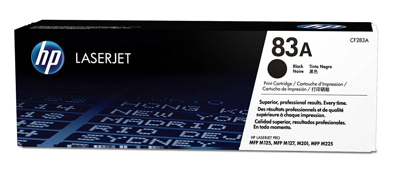 HP 83A Black Toner Cartridge (CF283A) 881275 HSN:8443