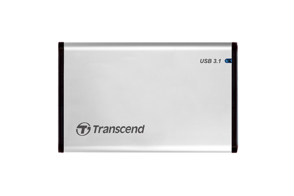 "Transcend Ext 2.5"" Casing Transcend USB 3.1 SSD/HDD Enclosure"