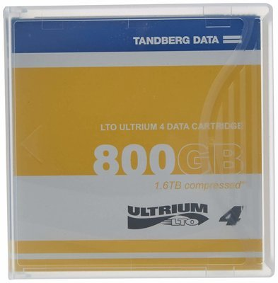 TANDBERG DATA LTO Ultrium 4 Storage Media Tape Cartridge, 433781