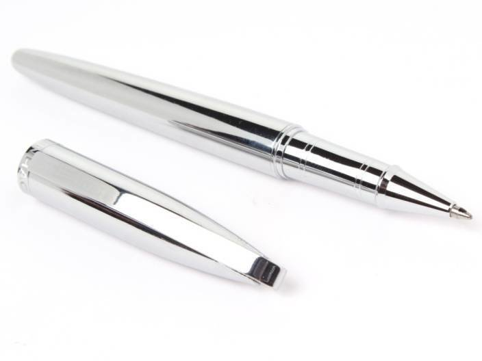 Jinhao 156 Full Chrome Designer Metal Body With Chrome Clip Roller Ball Pen 92584 HSN:9608