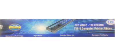 TVS 136Col Dot Magic Ribbon