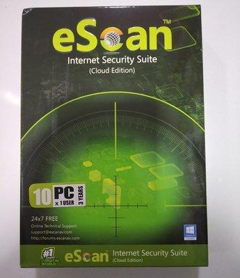 10 User, 3 Year, eScan Internet Security, V-14.x