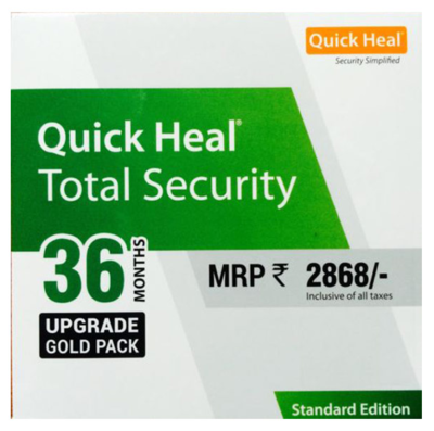 Renewal, 1 User, 3 Year, Quick Heal Total Security