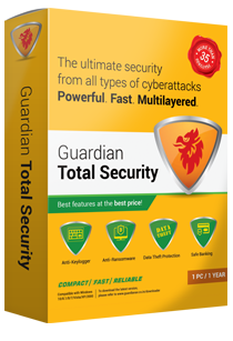 1 User, 1 Year, Guardian Total Security, 2019