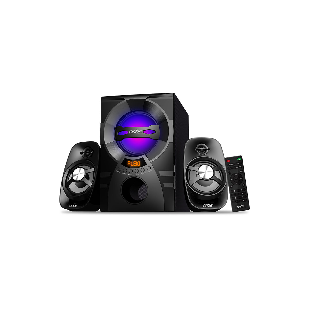 Artis Ms304 2 1 Ch Wireless Multimedia Speaker System Rs