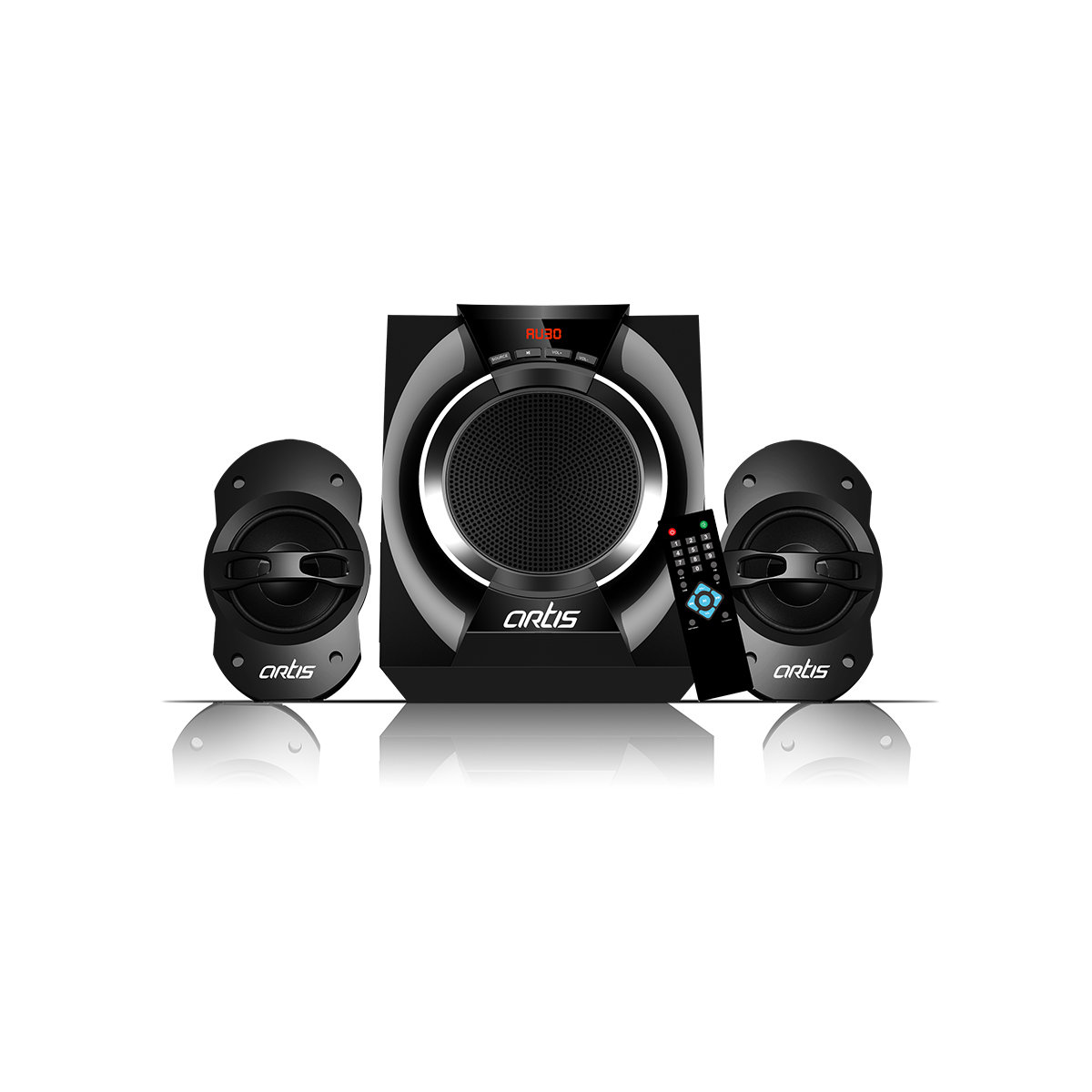 Artis Ms 205 2 1 Ch Wireless Multimedia Speaker