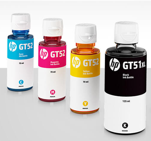 HP Original ink Bottle Use For GT Series GT-ink-Bottle HSN:84439952