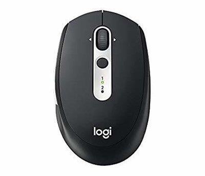 Logitech M585 Multi-Device Multi-Tasking Mouse, Black
