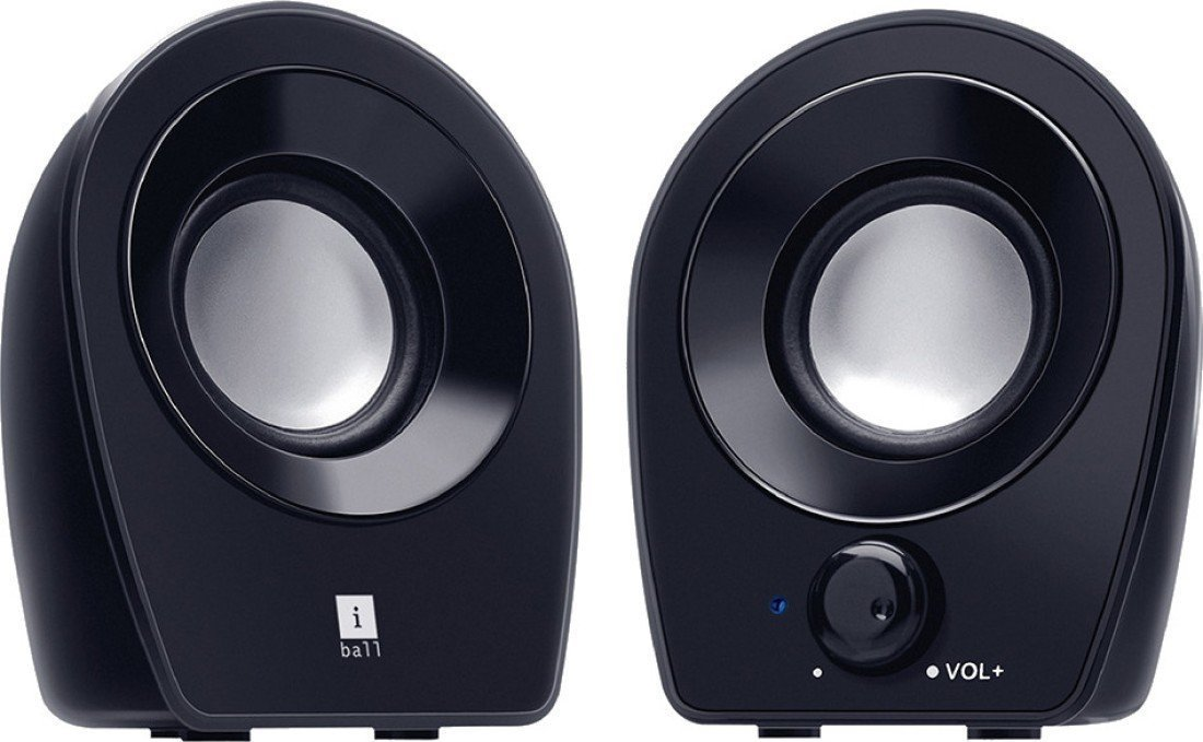 iBall Sound wave 2 2.0 Channel Multimedia Speakers