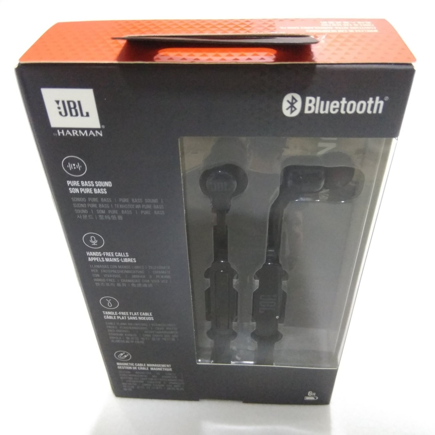 JBL T110BT in-ear Bluetooth Headphone, Black, Rs 1660