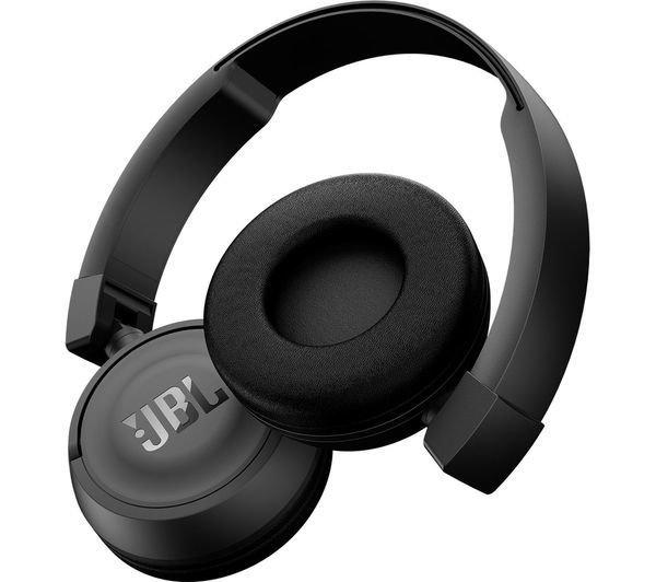 a3a71a79fb6 JBL T460BT Wireless Bluetooth On-Ear Headphones, Black, Rs.2450
