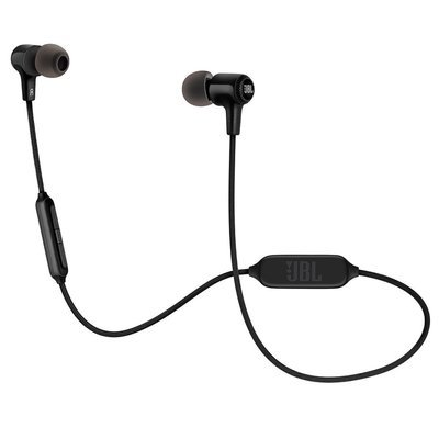 JBL E25BT Wireless in-Ear Headphones with Mic, Black
