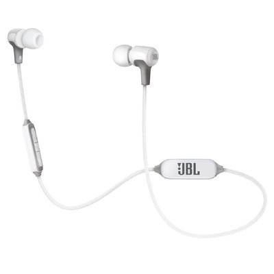 JBL E25BT Wireless In-Ear Headphones With Mic, White
