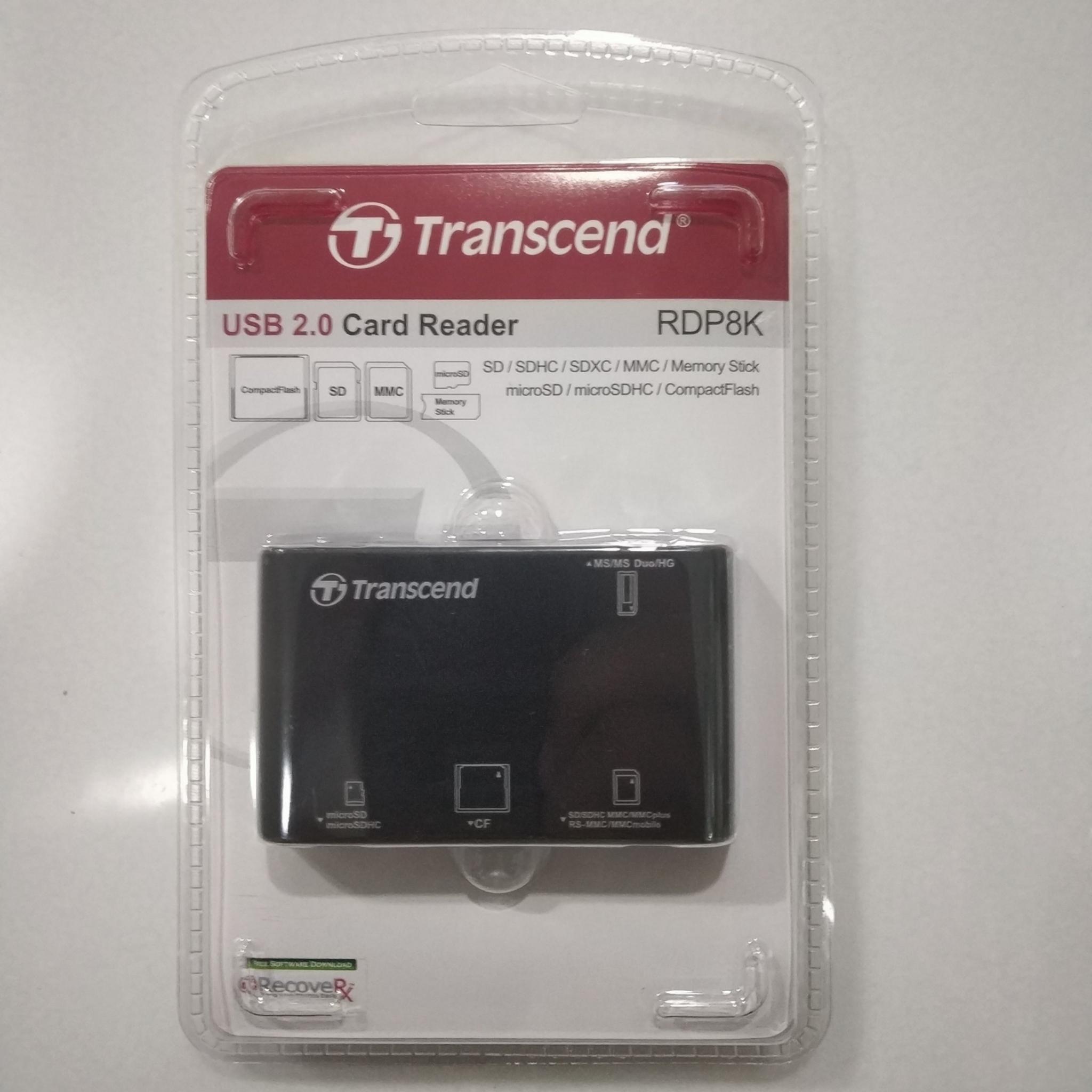 Transcend USB 2.0 Card Reader, TS-RDP8K