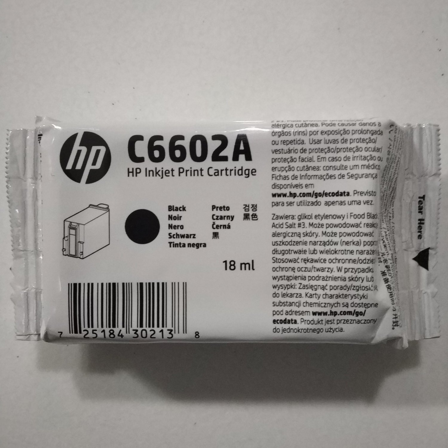 43731a721f58db HP C6602A Ink Cartridge